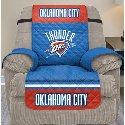 NBA Recliner Slipcover NBA Team: Oklahoma City Thunder