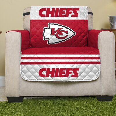 NFL Armchair Slipcover NFL Team: Kansas City Chiefs