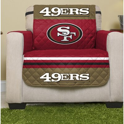 NFL Armchair Slipcover NFL Team: San Francisco 49Ers