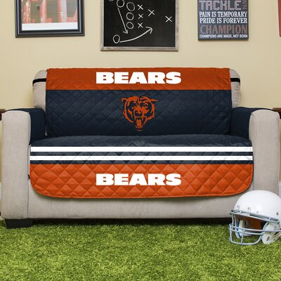 NFL Loveseat Slipcover NFL Team: Chicago Bears