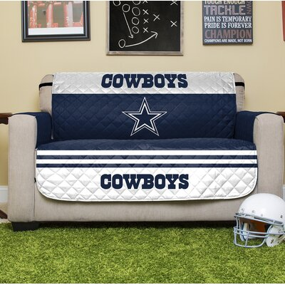 NFL Loveseat Slipcover NFL Team: Dallas Cowboys