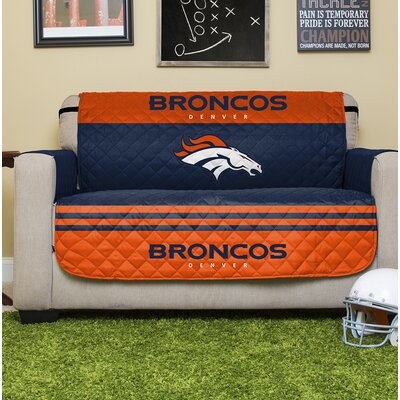 NFL Loveseat Slipcover NFL Team: Denver Broncos