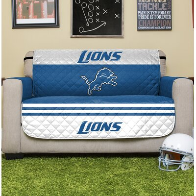 NFL Loveseat Slipcover NFL Team: Detroit Lions