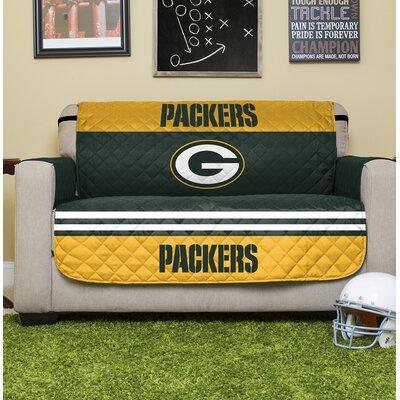 NFL Loveseat Slipcover NFL Team: Green Bay Packers
