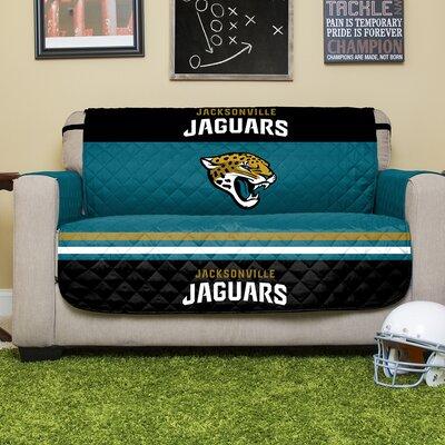 NFL Loveseat Slipcover NFL Team: Jacksonville Jaguars