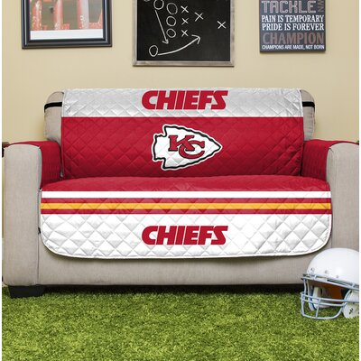 NFL Loveseat Slipcover NFL Team: Kansas City Chiefs