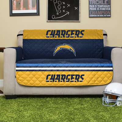 NFL Loveseat Slipcover NFL Team: Los Angeles Chargers