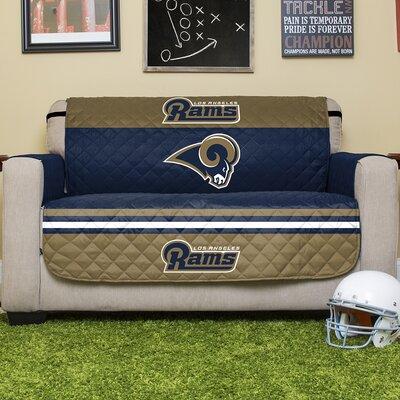 NFL Loveseat Slipcover NFL Team: Los Angeles Rams