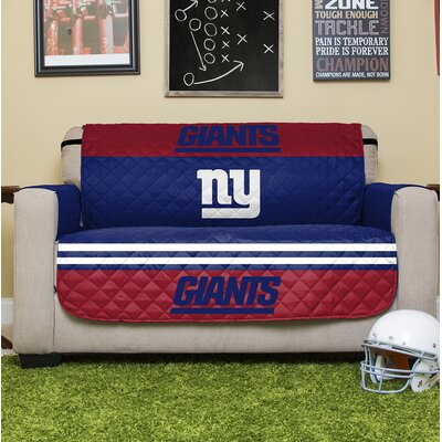 NFL Loveseat Slipcover NFL Team: New York Giants