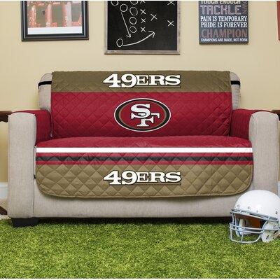 NFL Loveseat Slipcover NFL Team: San Francisco 49Ers