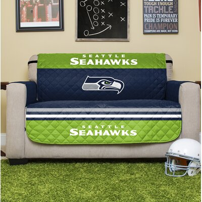NFL Loveseat Slipcover NFL Team: Seattle Seahawks