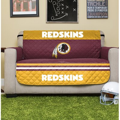 NFL Loveseat Slipcover NFL Team: Washington Redskins