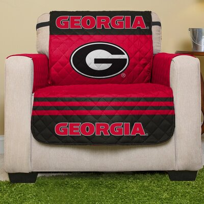 NCAA Armchair Slipcover NCAA Team: University Of Georgia