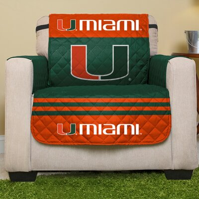 NCAA Armchair Slipcover NCAA Team: University Of Miami