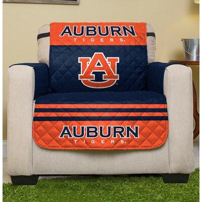 NCAA Armchair Slipcover NCAA Team: Auburn
