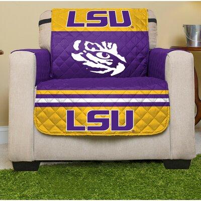 NCAA Armchair Slipcover NCAA Team: Louisiana State University