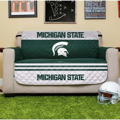 NCAA Loveseat Slipcover NCAA Team: Michigan State