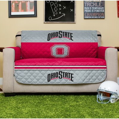 NCAA Loveseat Slipcover NCAA Team: Ohio State