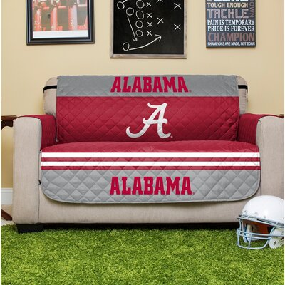 NCAA Loveseat Slipcover NCAA Team: University Of Alabama