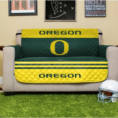 NCAA Loveseat Slipcover NCAA Team: University Of Oregon