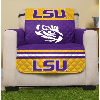 NCAA Loveseat Slipcover NCAA Team: Louisiana State University