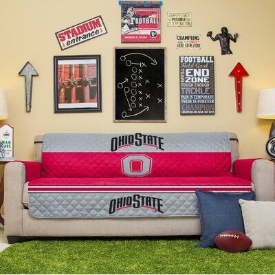 NCAA Sofa Slipcover NCAA Team: Ohio State