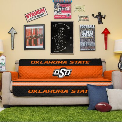 NCAA Sofa Slipcover NCAA Team: Oklahoma State