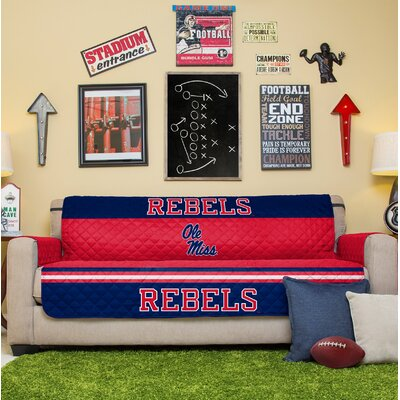 NCAA Sofa Slipcover NCAA Team: Ole Miss