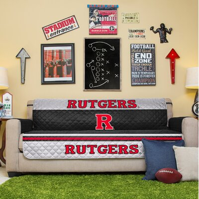 NCAA Sofa Slipcover NCAA Team: Rutgers University