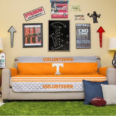 NCAA Sofa Slipcover NCAA Team: Tennessee