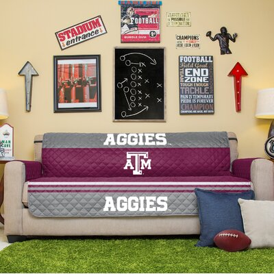 NCAA Sofa Slipcover NCAA Team: Texas A&M