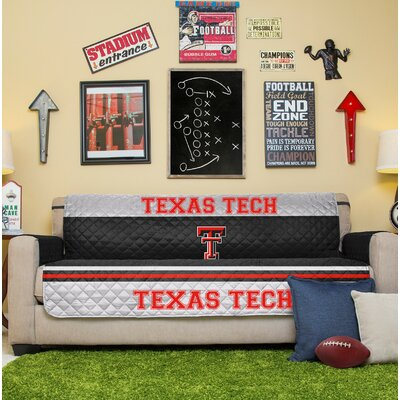 NCAA Sofa Slipcover NCAA Team: Texas Tech
