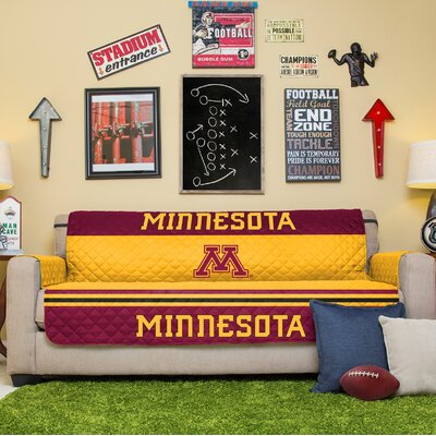 NCAA Sofa Slipcover NCAA Team: University Of Minnesota