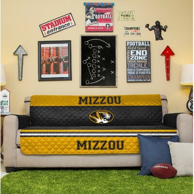 NCAA Sofa Slipcover NCAA Team: University Of Missouri
