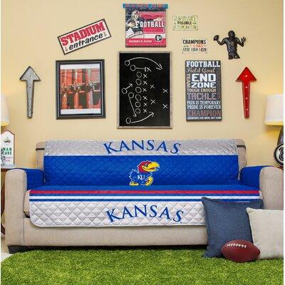 NCAA Sofa Slipcover NCAA Team: University Of Kansas