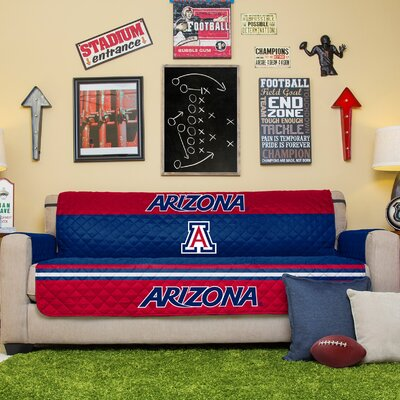 NCAA Sofa Slipcover NCAA Team: University Of Arizona