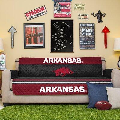 NCAA Sofa Slipcover NCAA Team: University Of Arkansas