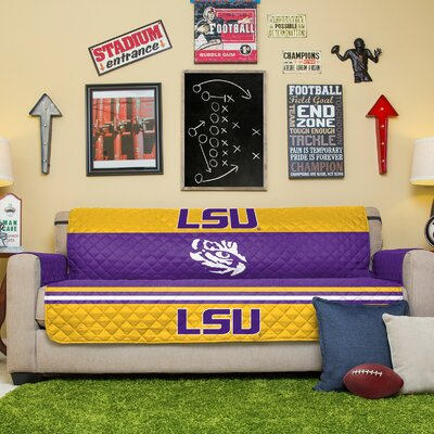 NCAA Sofa Slipcover NCAA Team: Louisiana State University