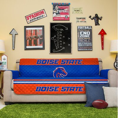 NCAA Sofa Slipcover NCAA Team: Boise State