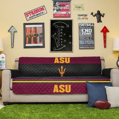 NCAA Sofa Slipcover NCAA Team: Arizona State