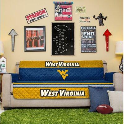 NCAA Sofa Slipcover NCAA Team: West Virginia University