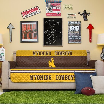 NCAA Sofa Slipcover NCAA Team: University Of Wyoming