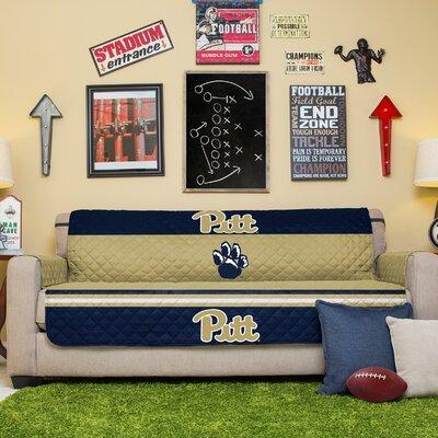 NCAA Sofa Slipcover NCAA Team: University Of Pittsburgh