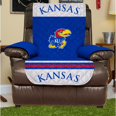 NCAA Recliner Slipcover NCAA Team: University Of Kansas, Size: Large