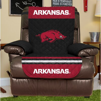 NCAA Recliner Slipcover NCAA Team: University Of Arkansas, Size: Large