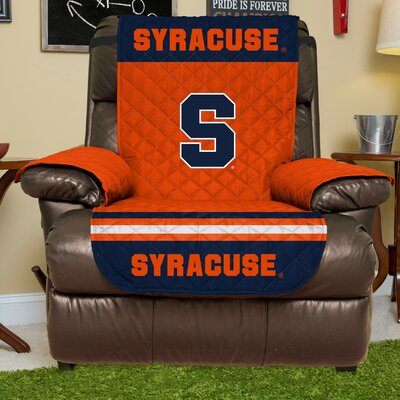 NCAA Recliner Slipcover NCAA Team: Syracuse, Size: Large