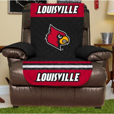 NCAA Recliner Slipcover NCAA Team: Louisville, Size: Large