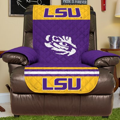 NCAA Recliner Slipcover NCAA Team: Louisiana State University, Size: Small