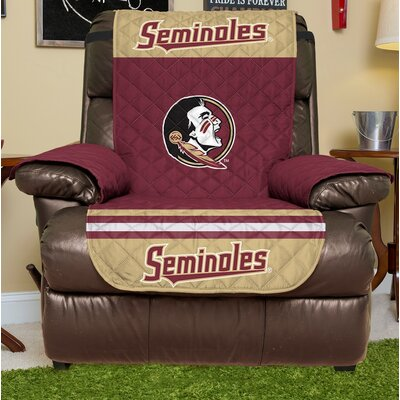 NCAA Recliner Slipcover NCAA Team: Florida State, Size: Small