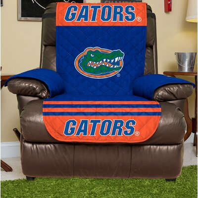 NCAA Recliner Slipcover NCAA Team: Florida, Size: Small